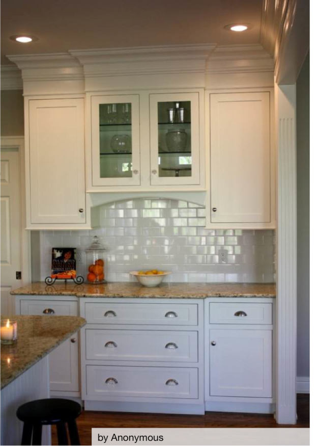 Crown Molding - Kitchen