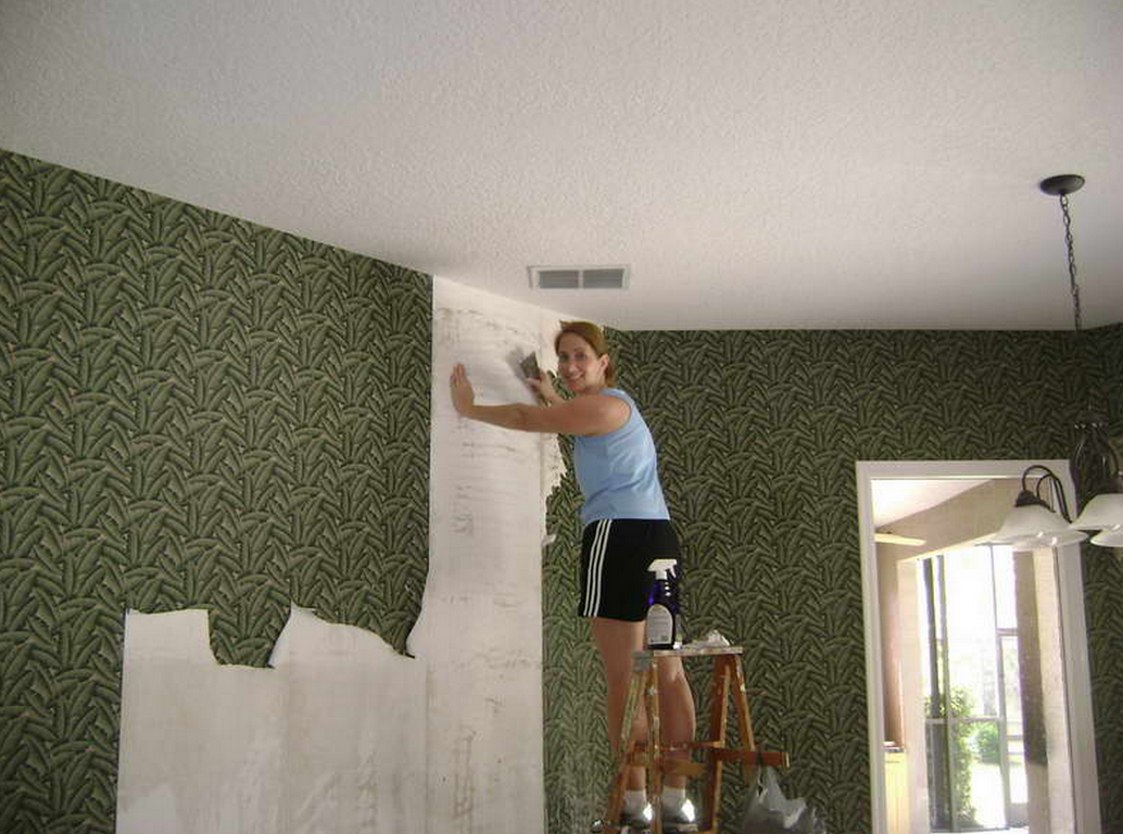 How to get rid of wallpaper - Remove Wallpaper